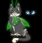 Mothcats Archive Mascot - 'Chive'