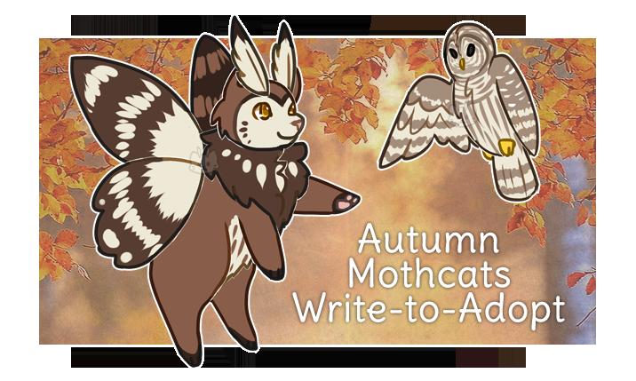 Mothcats Autumn WTA (CLOSED) by floramisa