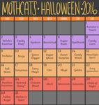 Mothcats Halloween Advent Calendar [CLOSED]