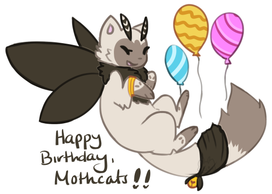 [CLOSED] HAPPY 2ND BIRTHDAY, MOTHCATS!!