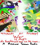 RT Arc 4: War is Magic MAIN POSTER by MonstrousMultiverse