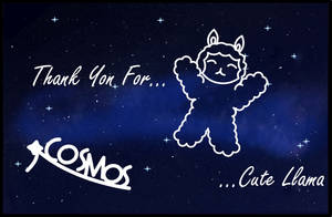 Thanks for the Cute Llama by COSMOS by Cosmos-1999