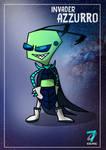 Requests 56th:Invader-Azzurro
