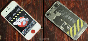 My EctoCell ( Ghostbusters iPhone ) by sonicteambronx