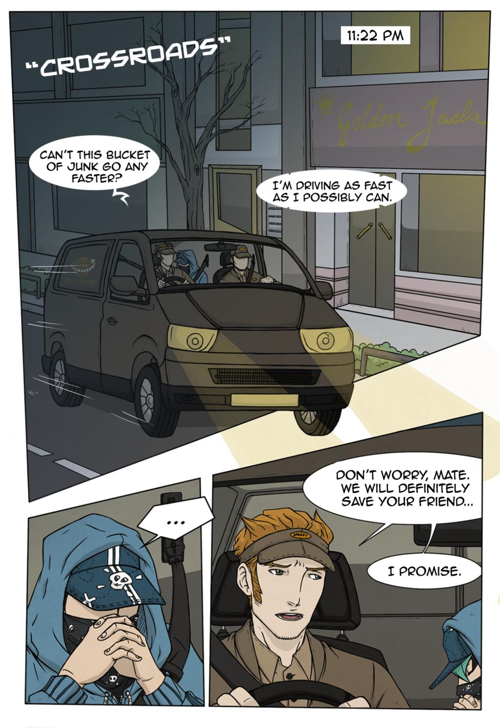 Crossroads - Page 1 by LightSeeker