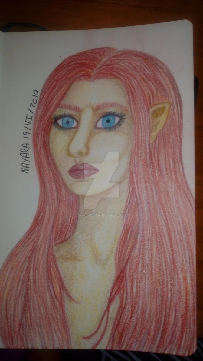 Elf with red hair