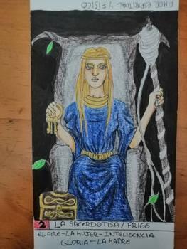 2 tarot card Frigg