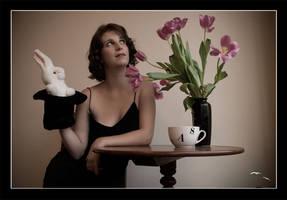 The White Rabbit by spidercuffs