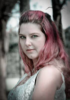 Caroline - Pretty in Pink by spidercuffs