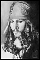 Captain Jack Sparrow, savvy by lanvenart