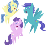 Pointy Ponies- Weather Pegasi
