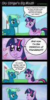 MLP: Sky Stinger's Big Mouth by PacificGreen