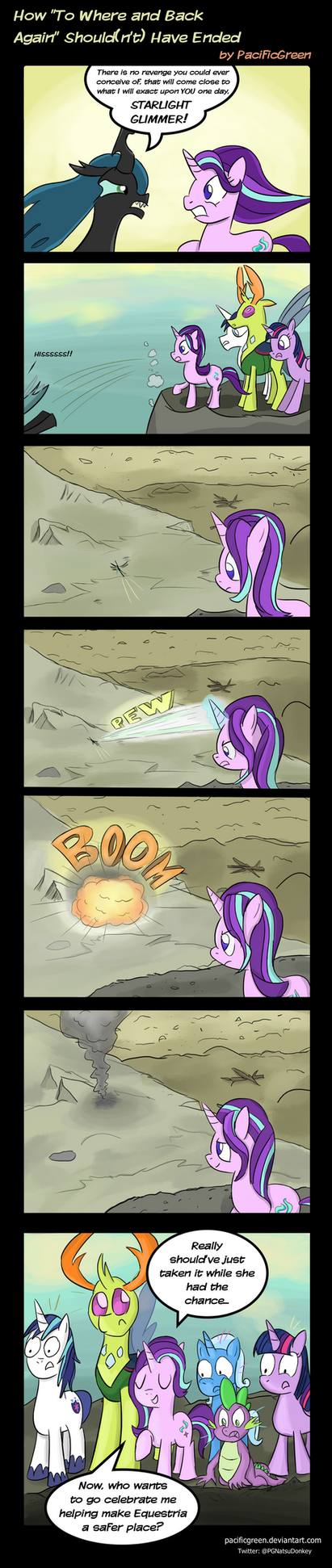 Mlp Comic Trixie S Revenge Dog