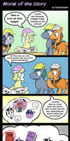 MLP: Moral of the Story by PacificGreen