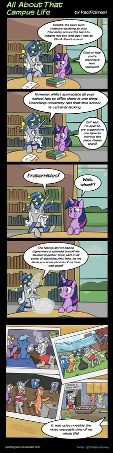 MLP: All About That Campus Life