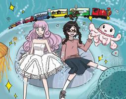 Jellyfish-Sittin' by goofanader