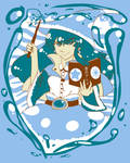 T-Shirt Contest Entry 2014: Water Witch by goofanader