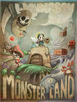 Wonderboy in Monsterland by crounchann