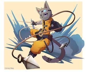 Adventure Cat by Nurinaki