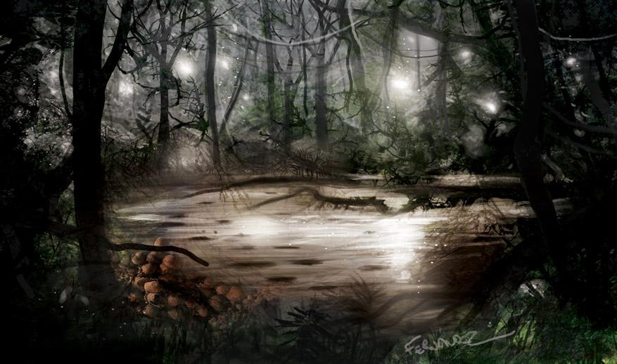 Inferno: Pantano perdito (Lost swamp) by HentaiNeko