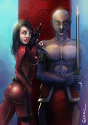 Divine blood: Youxia