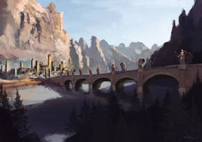 $20 Commission: The Bridge of Armistice by HentaiNeko
