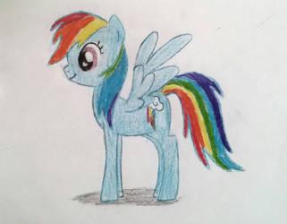 Rainbow Dash by funbrand