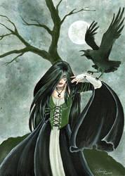 Raven Witch by GargoyleGoddess21