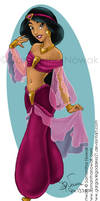 Jasmine Outfit Design 1 Color