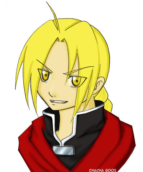 Ed Elric by wastedsacrifice