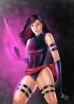 Psylocke from X-MEN