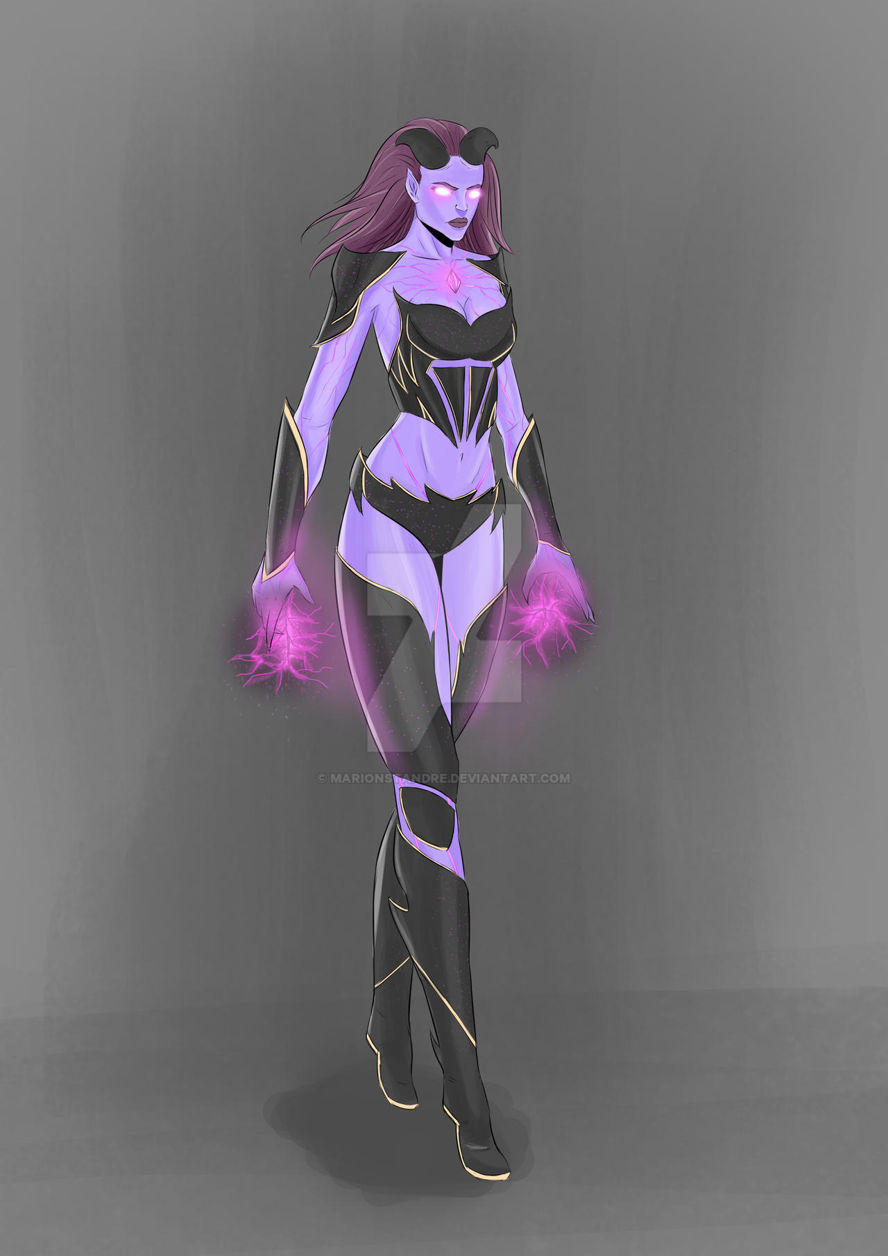 Character Design Commission Price : Eclypse character design commission by marionstandre on
