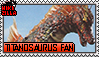 Titanosaurus Fan Stamp (@wikizilla.org) by The493Darkrai