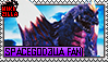SpaceGodzilla Fan Stamp (@wikizilla.org) by The493Darkrai