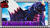 SpaceGodzilla Fan Stamp (@wikizilla.org) by The493Darkrai
