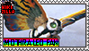 Mothra Leo Fan Stamp (@wikizilla.org) by The493Darkrai