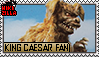 King Caesar Fan Stamp (@wikizilla.org)