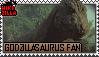 Godzillasaurus Fan Stamp (@wikizilla.org) by The493Darkrai