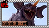 Baragon Fan Stamp (@wikizilla.org) by The493Darkrai
