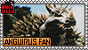 Anguirus Fan Stamp by The493Darkrai