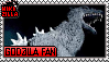 Godzilla Fan Stamp by The493Darkrai