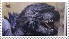Godzilla 2014 Stamp by The493Darkrai