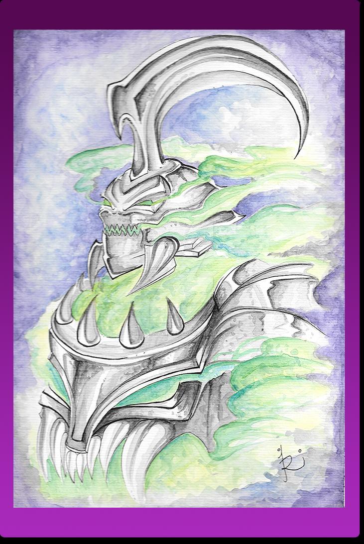 Hecarim - League of Legends - Watercolor by HeavenlyRivers