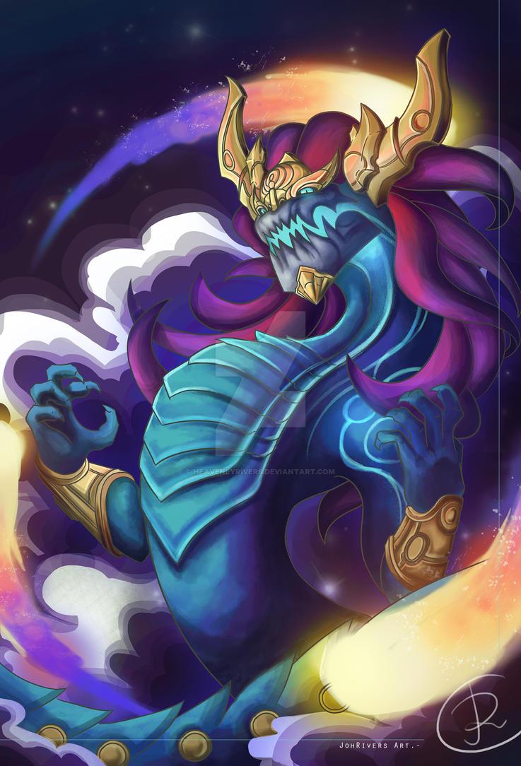 Aurelion Sol by HeavenlyRivers