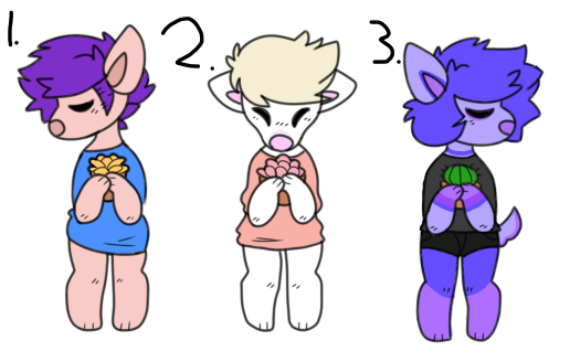 Adoptables 0/3 [Closed] by Krazy-The-Kray