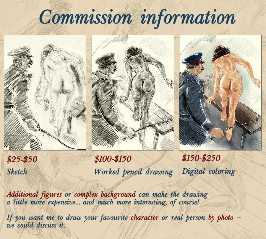 Commission price list by kindinov