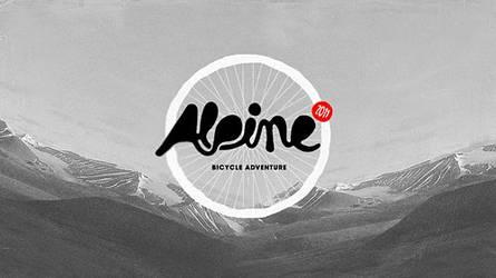 alpine bicycle adventure