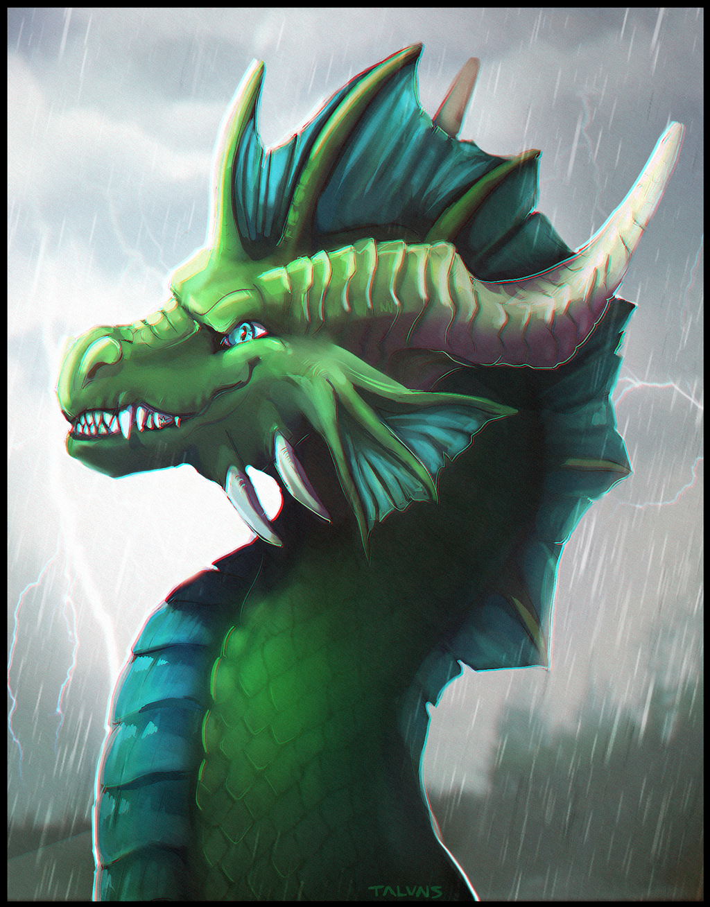 Stormy Fhryx [COMM] by Taluns