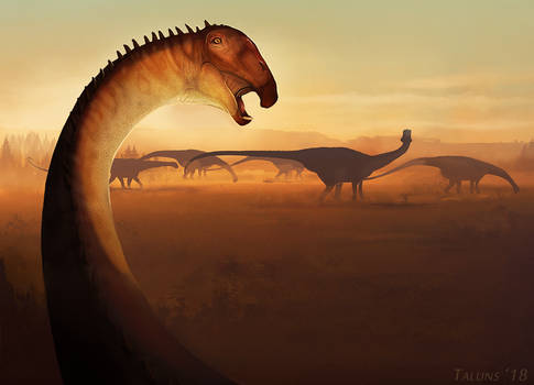Dinovember 3: Nigersaurus