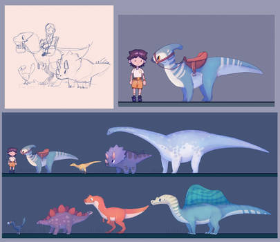 Dino Farm Game Concepts